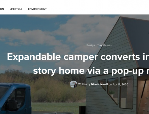 Inhabitat.com: Haaks campers provide a strong connection to nature