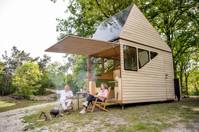 Vrijheid in een haaks camper