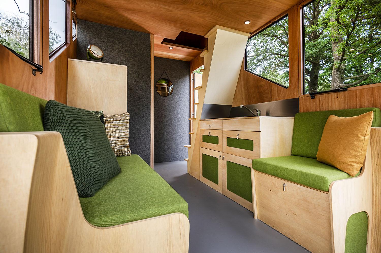 comfort in het mooie haaks interieur