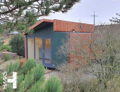 Nano house type DEN op Duincamping De Lepelaar